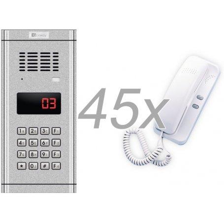 Zestaw domofonowy 45 rodzinny GENWAY WL-03NL